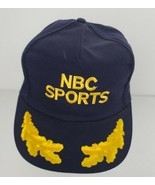NBC SPORTS HAT LOGO BLUE BASEBALL CAP TELEVISION EMBROIDERED ADJUSTABLE ... - $22.28
