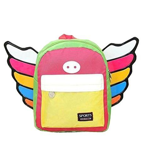 Korean Fashion Infant Knapsack Toddle Backpack Kindergarten School Bag Yellow