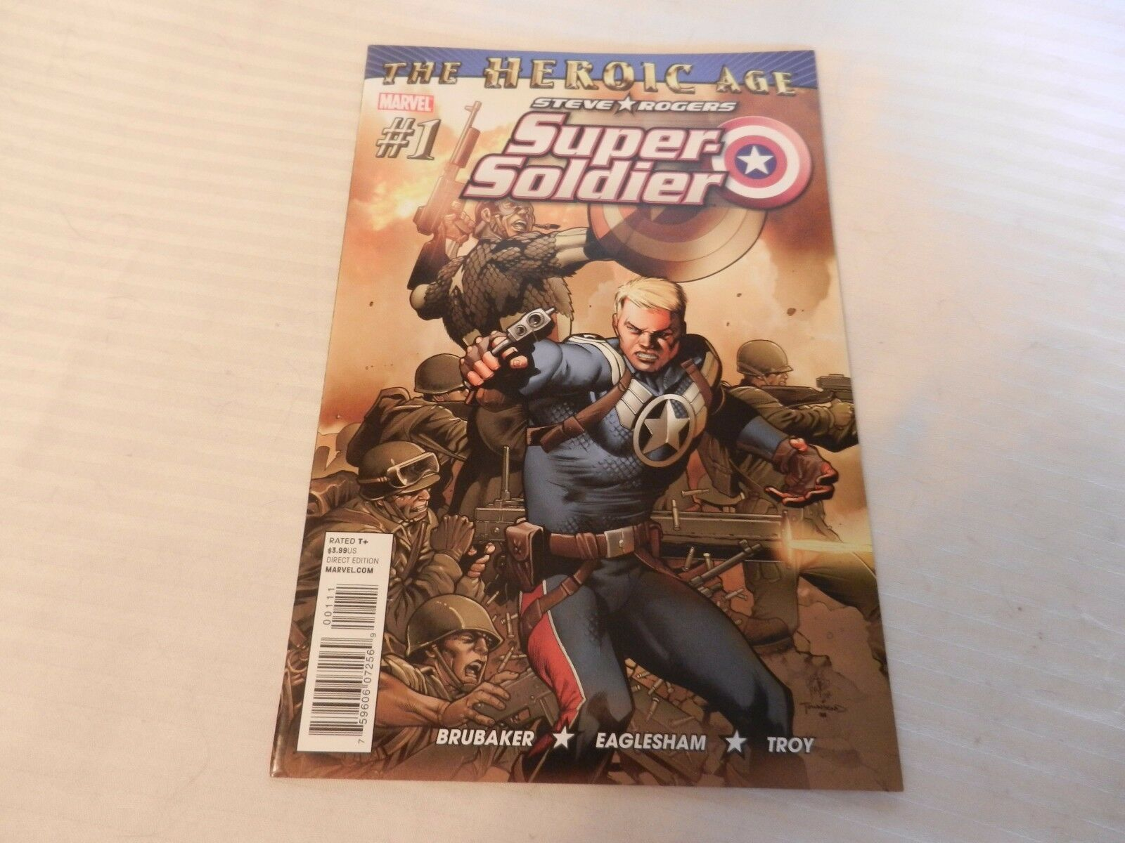 The Heroic Age Steve Rogers Super-Soldier Marvel Comics #1 September 2010