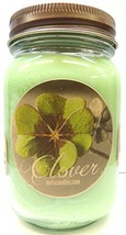 Clover 16oz Country Jar All Natural Handmade Soy Candle - Wholesale Scen... - $14.70