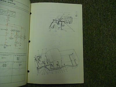 1978 Mazda B1800 Elektrisch Wiring Shop Manuell Fabrik OEM Buch 78 Geschäft