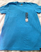 GOLDTOE Softstyle Blue Short Sleeve T-Shirt Men's Small S (34-36) Free S... - $9.95