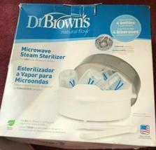 Dr. Brown's Microwave Steam Sterilizer NEW Open Box - $7.82
