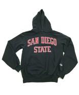 Champion San Diego State Aztecs Hoodie Sweater Size Small S Black Sweats... - $27.33