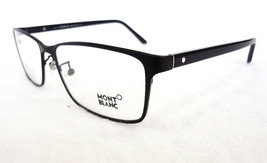 MONTBLANC Men's Optical Frames MB0543 60-17-150 Metal Black MADE IN ITAL... - $199.95