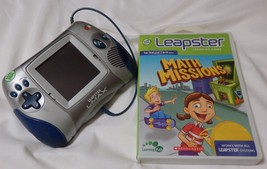 Leap Frog Leapster L-Max Learning Game System with Math Missions Game - $15.75