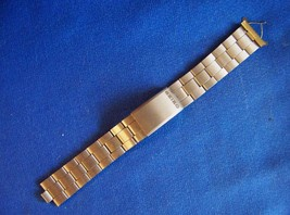 Vintage Stainless Steel Seiko Wristwatch Band 6 5'8 inch length 20 mm ends - $14.99