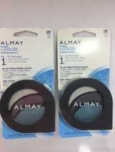 (2) Almay 150 Blues Intense i-Color Evening Smoky Purple All Day Wear EyeShadow - $10.84
