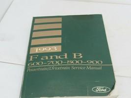 1993 F & B 600-700 800 900 Service Shop Repair Manual Powertrain Drivetrain - $19.75