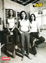 Alyssa Milano Shannen Doherty Holly Marie Combs teen magazine pinup clipping Kit