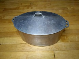 Vintage Firestone Aluminum Roasting Pan and Cover  - $50.00