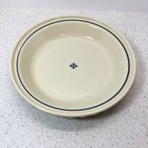 "LONGABERGER POTTERY PIE PLATE 10 1/4"" X 1 7/8"" TALL, BLUE, ROSEVILLE, US... - $11.88"