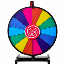 "18"" Editable 14 Slot Fortune Spinning Game Tabletop - $62.10"