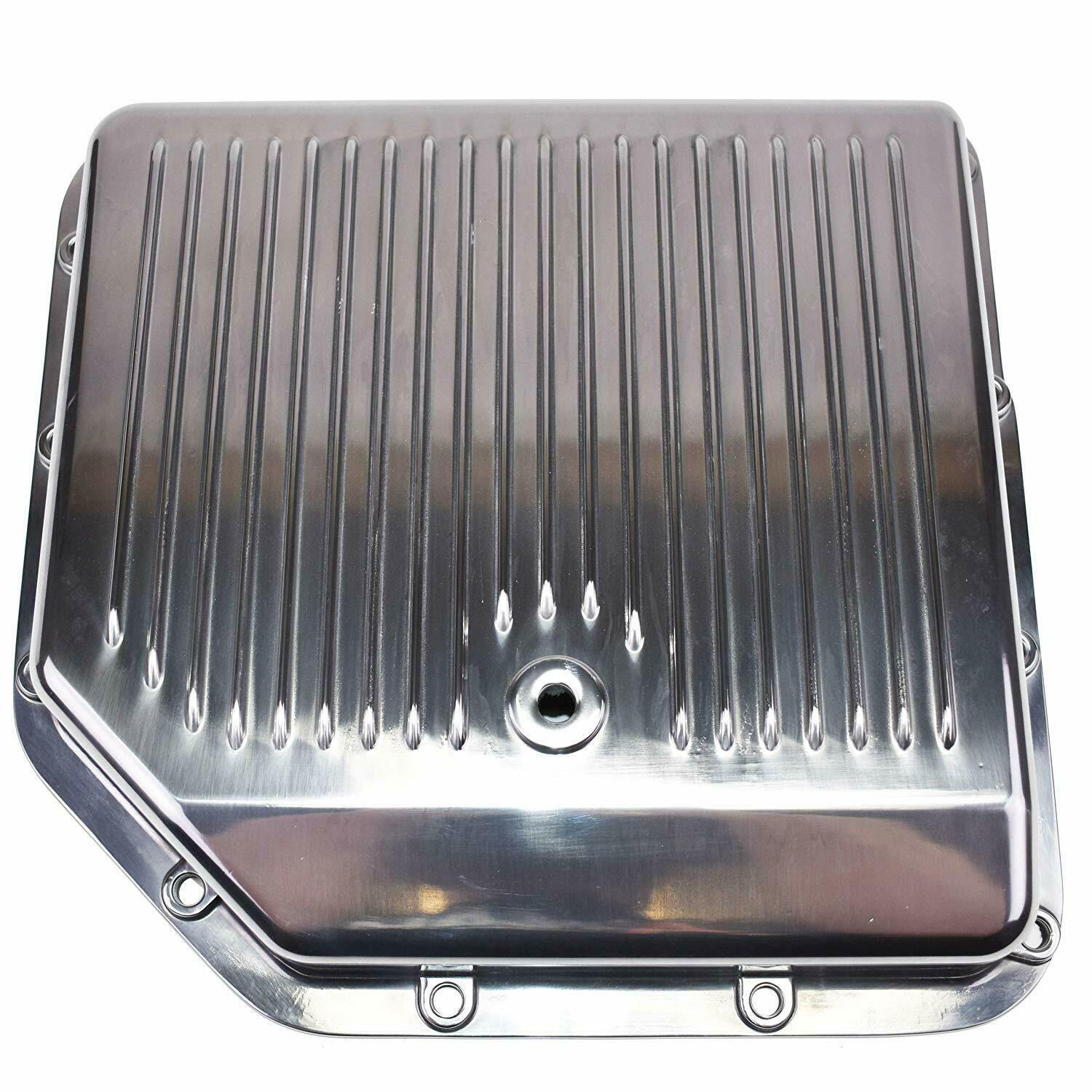 GM Turbo-Hydramatic 250C 350 350C Aluminum Transmission Pan w/ Gasket And Bolts