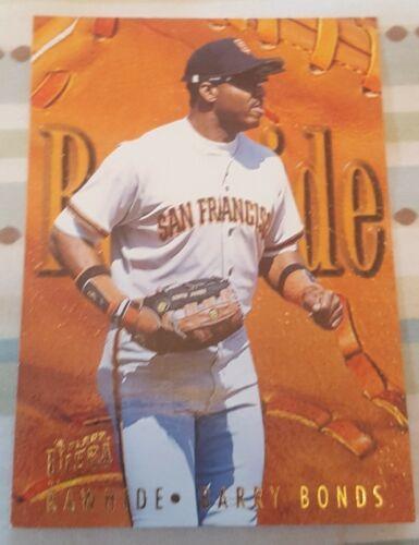 1996 Fleer Ultra Rawhide #2 Barry Bonds San Francisco Giants Baseball Card