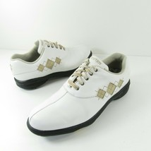 Women's Footjoy Ecomfort Golf Shoes 98530 Ladies Size 8.5 Wide White  - $26.99