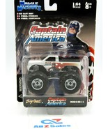Muscle Machines CAPTAIN AMERICA, Bigfoot MO64-05-11, 1:64 Scale Truck - NEW - $29.65