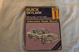 Buick Skylark Haynes Automotive Repair Manual 1980 – 1985 - $12.26