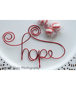 Hope Ornament, Encouragement Gift, Holiday Decor - £14.66 GBP