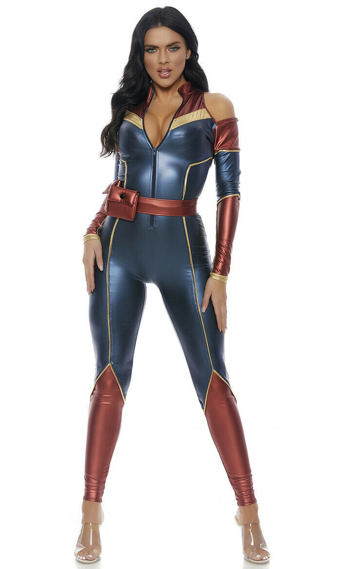 Primary image for Forplay Space Soldier Superhero Captain Marvel Adult Halloween Costume 559610