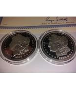 1889 CC Morgan $1 National Collectors Mint Proof Copy Tribute Coin Set with COA - $55.00