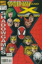 Spider-Man and X-Factor: Shadowgames #3 VF 1994 Marvel Comic Book - $2.06