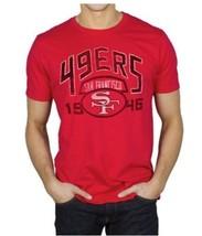 Original Junk Food San Francisco 49ERS Fußball Herren Kick über Crew Hemd S-2XL - $30.43
