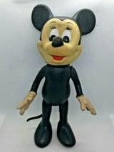 Vintage Minnie Mouse Walt Disney Productions Poseable Plastic Doll  - $9.41