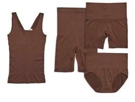 Yummie Seamless Wardrobe Essentials 4-piece in Coffee Bean, 1X/2X (607701) - $32.66