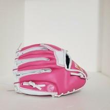 "Franklin Pink & White Right Handed Throw Baseball Glove 4773AWT12 RTP 9 1/2""  - $13.85"