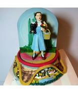 San Francisco Music Box Co Wizard of Oz Dorothy Kansas Revolving Emerald... - $94.05
