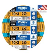 Southwire Romex SIMpull 10-3 Non-Metallic Wire (By-the-Roll) - $156.60
