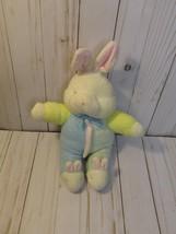 A2 Vintage Soft Dreams Pastel Terrycloth Bunny Rabbit Slippers Plush Bab... - $59.39