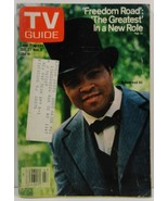 TV Guide Magazine October 27, 1979 Muhammad Ali in Freedom Road - $2.00