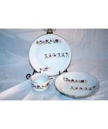 Seltmann Weiden Children Playing 3 Pice Childs Dish Set - $25.19