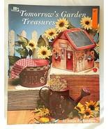 Tomorrows Garden Treasures Craft Book by Sonja Richardson 1994 - $13.86