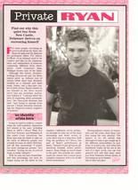 Ryan Phillippe teen magazine pinup clipping private Ryan Big Bopper Bop