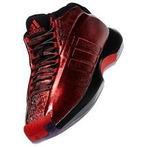 Adidas Verrückt 1 Kobe Sz: 7.5 Bryant Lillard Florist City Rot Weihnachten - $138.40