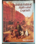 British Folklore Myths and Legends Hardcover Book 1982 - $46.74