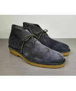 Vince Scott Chukka Boot, Graphite Suede, Mens Size US 9.5 M / EU 43 - $100.79