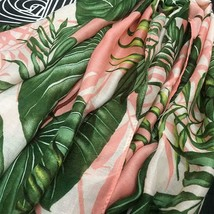 Leaves Print Polyester Long  Wraps - $21.77