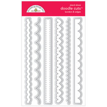 Borders & Edges Die Set by Doodlebug Designs