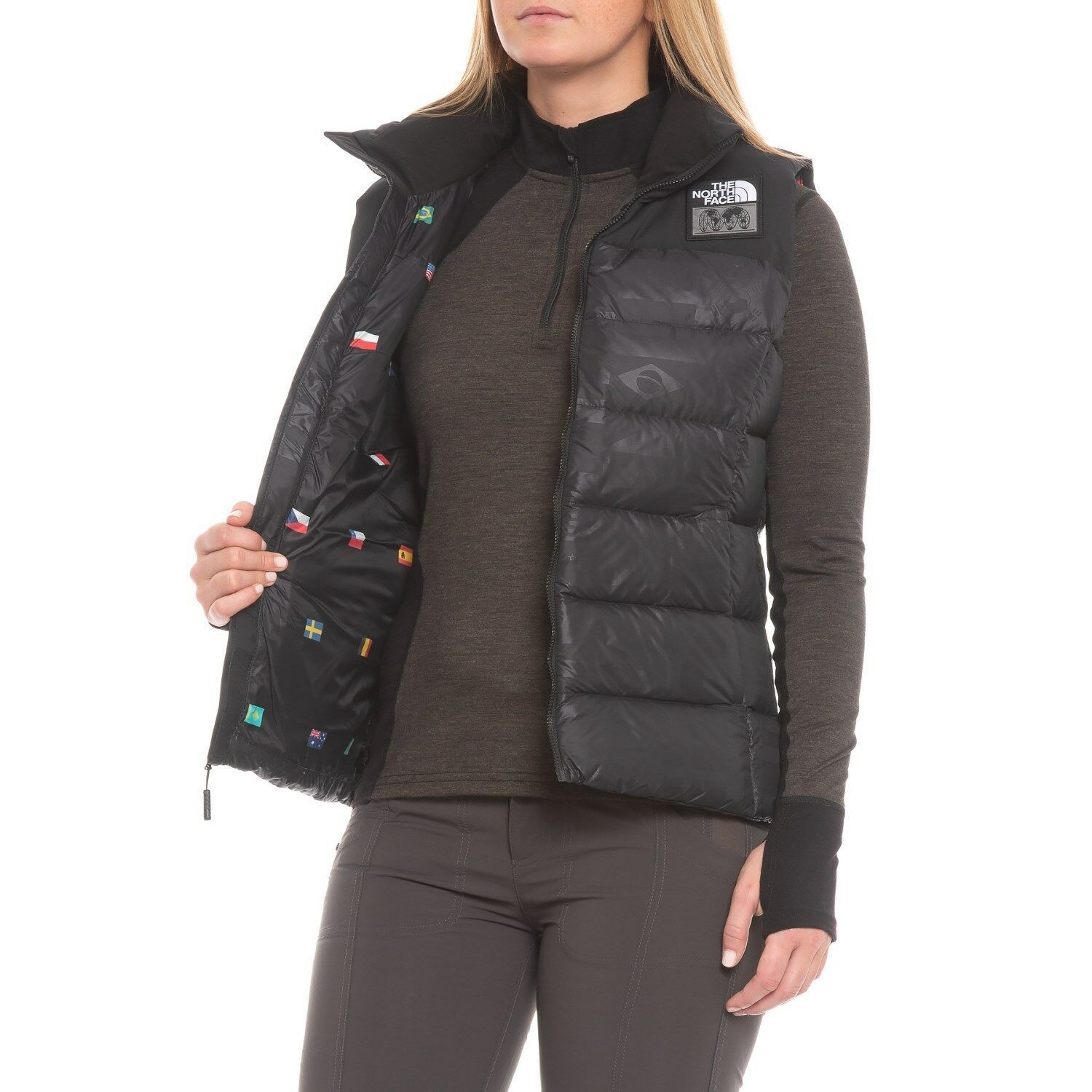 The North Face Nuptse Down Vest - Insulated (For Women) image 2