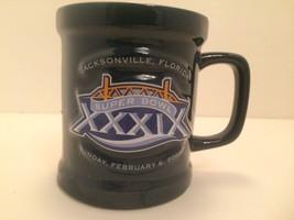 Super Bowl XXXIX 2005 Jacksonville Florida Ceramic Coffee Cup Mug Official - $9.90