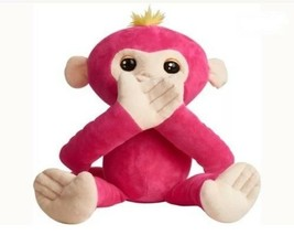 Fingerlings Hugs Bella Friendly Interactive Pink Plush Monkey New by Wow... - $29.69