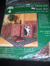"""Fabric Frame Kit 7"""" x 9"""" by Concord House 0536B - $9.40"""