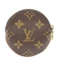 Louis Vuitton Porte Monnaie Round Coin Purse M61926 Used Excellent From ... - $358.63