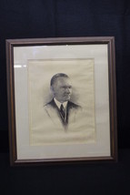 1916 Scarce Autographed Engraving of President Calvin Coolidge by Frankl... - $1,495.00