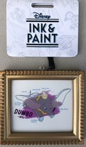 Disney Parks Ink And Paint Dumbo Frame Canvas Ornament - New - $9.95