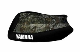 Yamaha YFM 600 Grizzly 98-02 Red Ghost Flame Seat Cover